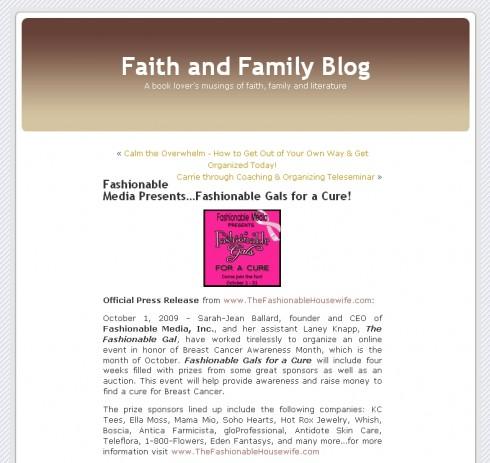 faithfamily