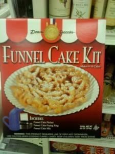 M Funnel Cake