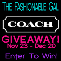 The Fashionable Gal Coach Giveaway