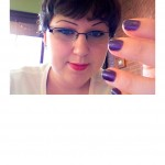 Nails of the Day:  C-c-courage from China Glaze