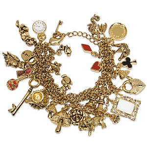 Charm bracelet by tom binns 124 95 red queen necklace by swarovski