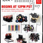 NYX Super Sale – Up to 80% Off!