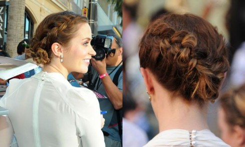 french braid hairstyle. BRAIDED UPDO BRAIDED UPDO