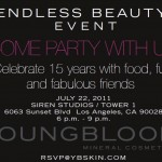 You're Invited! Youngblood Mineral Cosmetics Endless Beauty Event!
