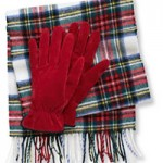 Holiday Fashion Guide- LL Bean Glove and Scarf Set