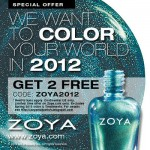 Zoya Wants to Color Your World in 2012!