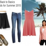 Top Back to Basics Trends for Summer 2015