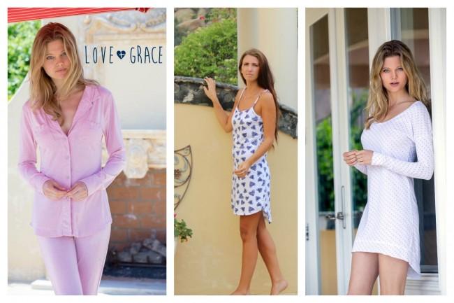 love and grace pajamas
