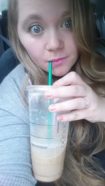 Excuse the Expression, I was a little excited about my nail polish and Starbucks