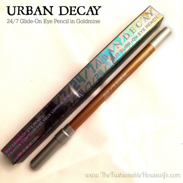 urban decay eye pencil in goldmine