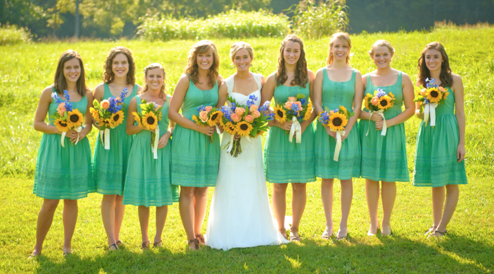 All Shapes and Sizes: How to Find Bridesmaid Dresses to Suit Everyone
