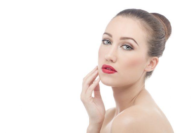 woman face skin